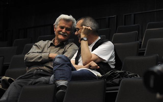 Nikolaus Brass (Komponist) und Christian Marten-Molnar (Regisseur)